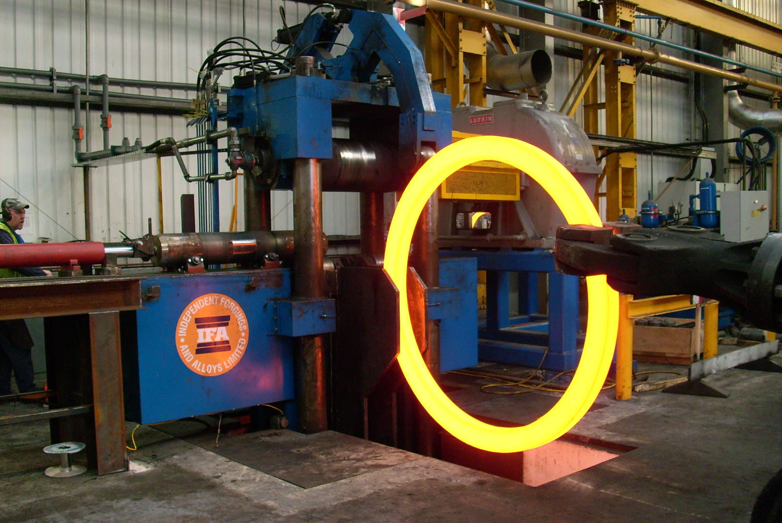 forged ring rolling