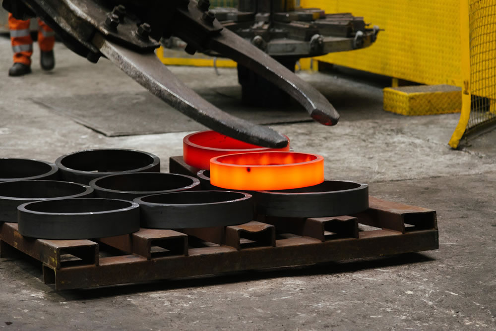 Forged Seamless Rolled Rings & Cylinders