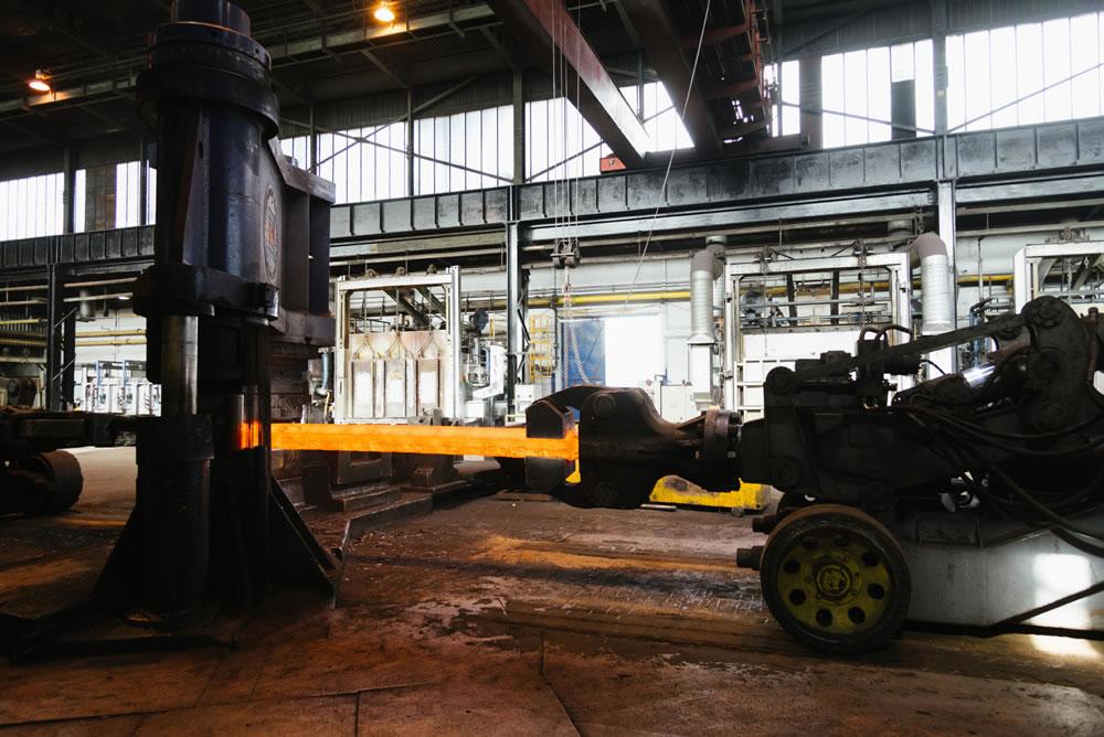 press forging